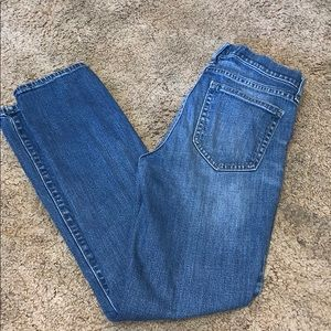 Gap staright leg jeans size 27r